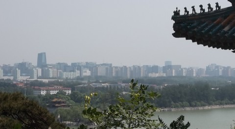Desarrollando planta subterránea reciclado aguas residuales más grande China