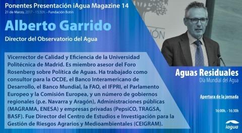 Alberto Garrido, Director OA Fundación Botín, abrirá presentación iAgua Magazine