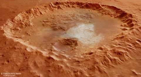 ¿Cómo fue pasado acuático Marte?