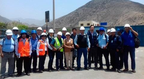 Perú capacita operadores plantas tratamiento aguas residuales