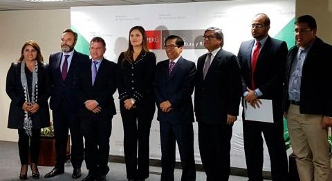 Perú confía INCLAM mejora riego zona agrícola Arequipa