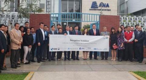 gobiernos Perú y Corea Sur presentan proyecto prevenir daños inundaciones