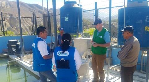 Perú supervisa plantas tratamiento agua potable ámbito rural