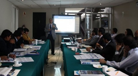 Entidades Candarave analizan balance estudio hídrico Cuenca Río Locumba