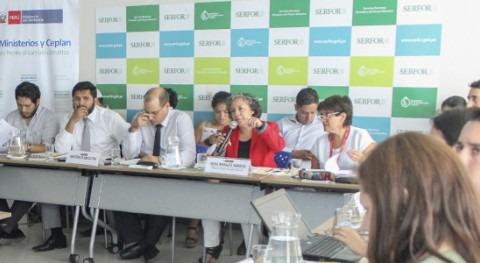 Perú se prepara hacer frente al cambio climático