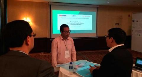 Perú explica avances obtenidos Certificado Azul
