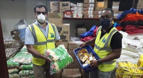 Miya Jamaica dona suministros ayuda comunidades afectadas COVID-19 Jamaica
