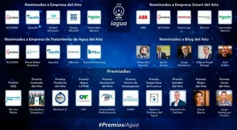 Premios iAgua comenzar transición nuevo tiempo