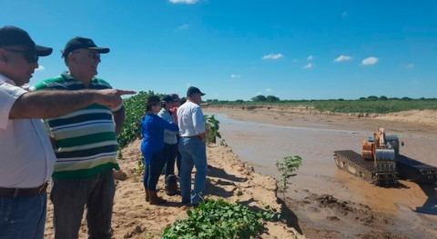 Certificado ingreso efectivo aguas Pilcomayo Paraguay