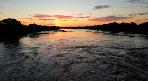aguas río Pilcomayo ya recorren 115 km recorrido embocadura