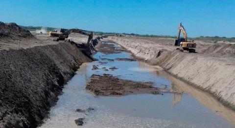 nuevo canal río Pilcomayo va cogiendo forma