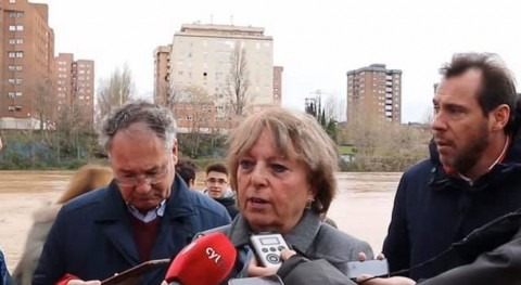 río Pisuerga alcanza 1.220m3s Valladolid