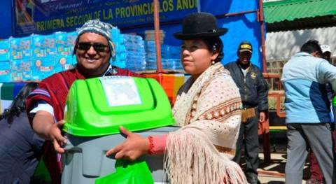 Bolivia lanza Plan Gestión Ambiental reducir contaminación lago Titicaca