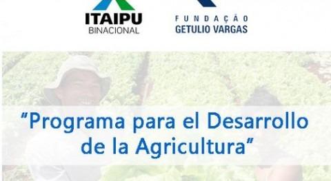 Itaipú pone marcha Programa Desarrollo Agricultura Paraguay