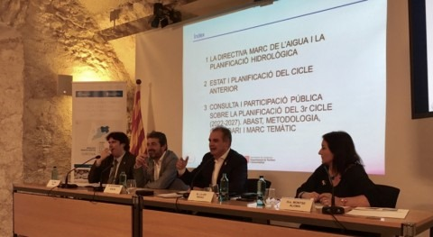 Celebrada primera sesión participación definir planificación hidrológica Cataluña