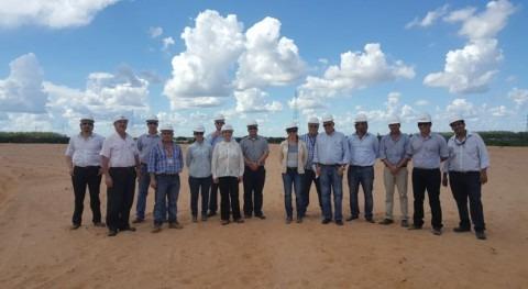 marcha planta tratamiento aguas residuales Bañado Norte, Paraguay
