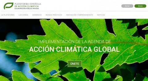 Nace nueva Plataforma Española Acción Climática