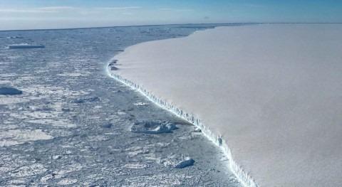 vientos cálidos podrían llevar al límite plataforma hielo Larsen C Antártida