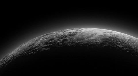 misterioso mundo helado Plutón