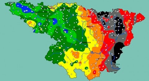Evolución hidrológica: crecidas generalizadas cauces tercio oriental cuenca Ebro