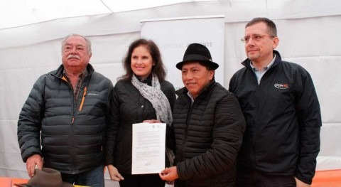 Ecuador declara primera área protección hídrica