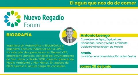 Murcia señala Nuevo Regadío Forum necesidad precio agua armonizado y accesible