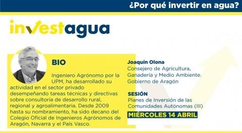 """Aragón reivindica INVESTAGUA """"competencias compartidas"""" planificación hidrológica"""