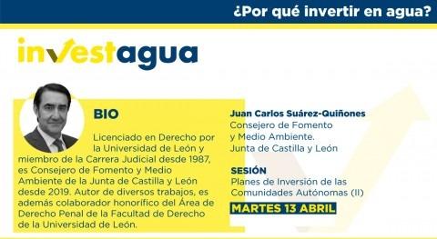 Castilla y León anuncia INVESTAGUA que pondrá marcha más 300 EDAR esta legislatura