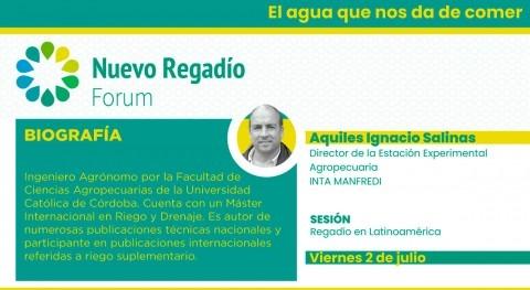 INTA muestra NRF trabajo mejorar eficiencia regadío argentino