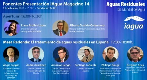 5 preguntas que lanzaré al debate aguas residuales presentación iAgua Magazine 14