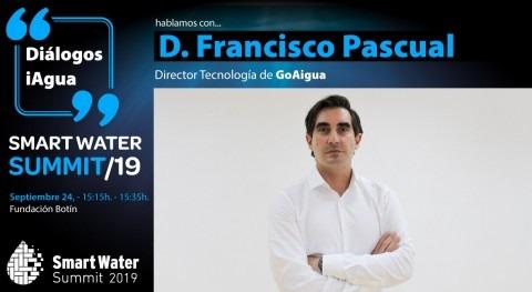 Francisco Pascual, director Tecnología GoAigua, protagonista Smart Water Summit