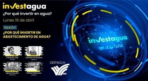 expertos muestran INVESTAGUA rentabilidad invertir abastecimiento agua
