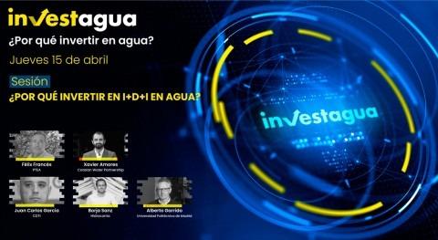 expertos advierten INVESTAGUA urgencia incrementar inversión I+D+i agua