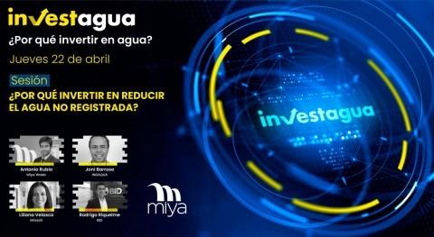 expertos INVESTAGUA apuntan gestión Agua No Registrada como pilar eficiencia