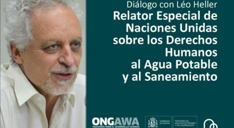 Diálogo Relator Naciones Unidas Derechos al Agua y al Saneamiento