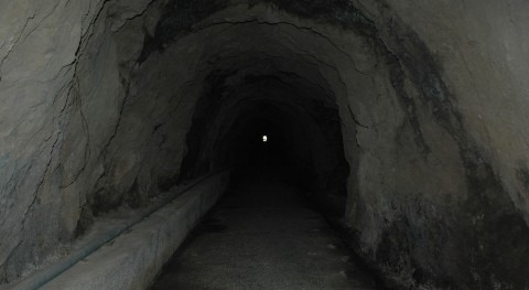 Túnel Chira - Soria construido