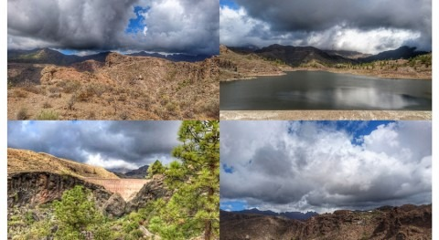 Gran Canaria: lluvias relieve