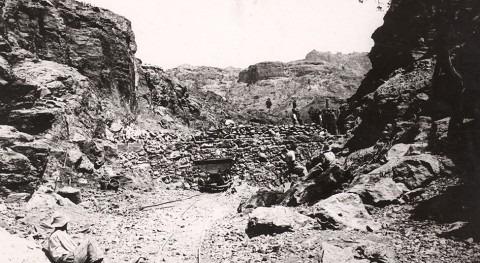Macizos cimentación singulares presas antiguas #GranCanaria #Canarias