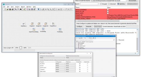 Guía compilar librería e interfaz gráfica Epanet 2.2