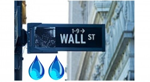 agua Wall Street: tema no solo economistas