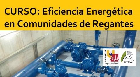 Curso Eficiencia Energética Comunidades Regantes