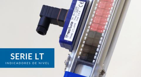 Indicadores nivel transmisión magnética Serie LT