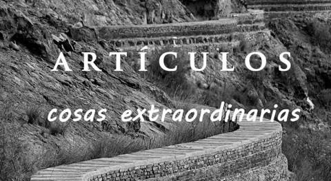 Análisis problemática Carta Etnográfica Gran Canaria obras hidráulicas