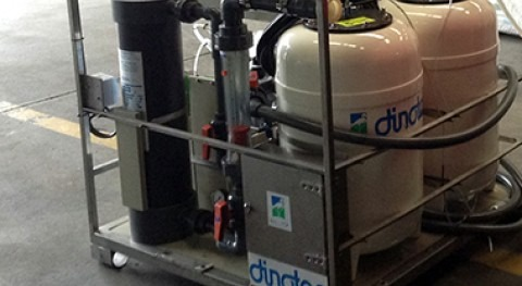 DINOTEC suministra nueva potabilizadora Bomberos Huelva
