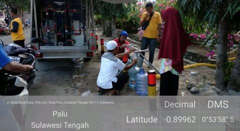 centros potabilización agua Eurofinsa se estrenan terremoto Indonesia