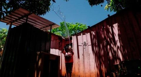hospitales paraguayos reciben agua potable cuando más lo necesitan