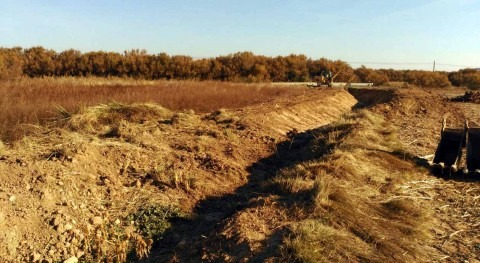 CHE inicia acondicionamiento río Molina Pradejón, Rioja