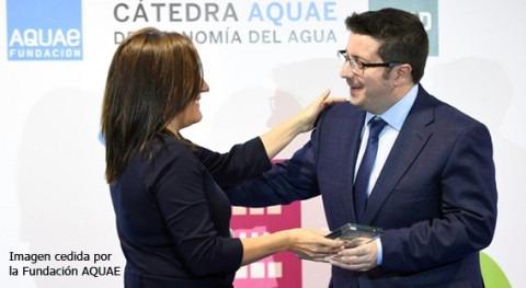 """investigación IIAMA premiada """"Cátedra Aquae Economía Agua"""""""