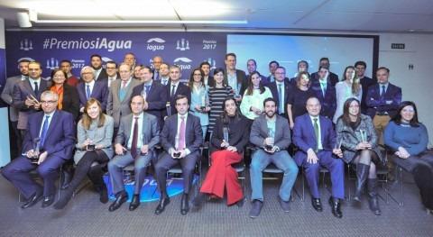 Todos ganadores Premios iAgua 2017