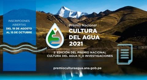 Perú: Premiarán investigaciones científicas agua